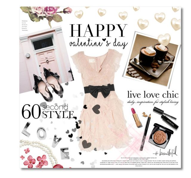 """""""60-Second Style: Last Minute Date"""" by miee0105 ❤ liked on Polyvore featuring Marchesa, Chico's, Chanel, Bobbi Brown Cosmetics, women's clothing, women, female, woman, misses and juniors"""