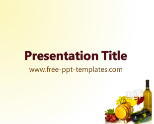 Wine powerpoint template is a white template with an appropriate wine powerpoint template is a white template with an appropriate background image of wine and grapes that you can use to make an elegant and professional toneelgroepblik Images