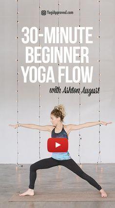Der perfekte 30-Minuten-Anfänger-Yoga-Flow (FREE-Klasse) - Yoga & Fitness,  #30MinutenAnfängerYogaFl...