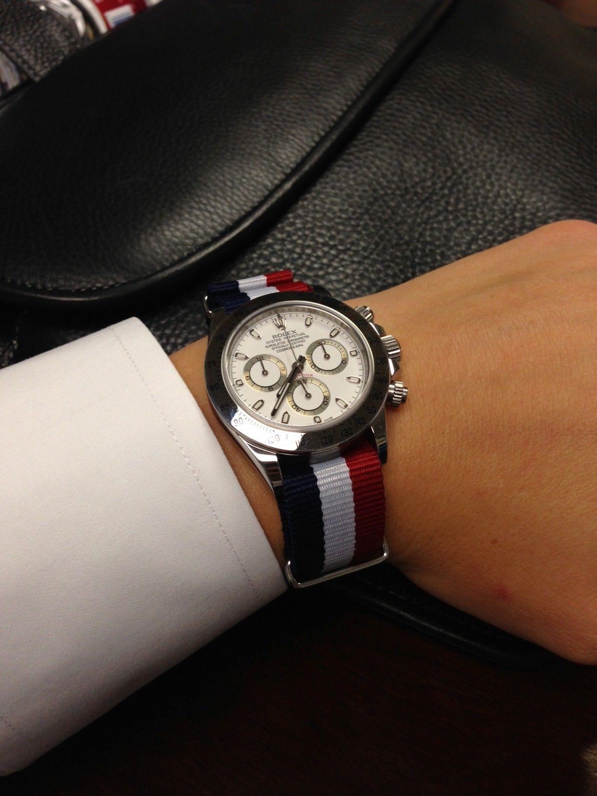 883b00d814ec6a Pin by United Watch Band on United Watch Bands   Rolex daytona ...