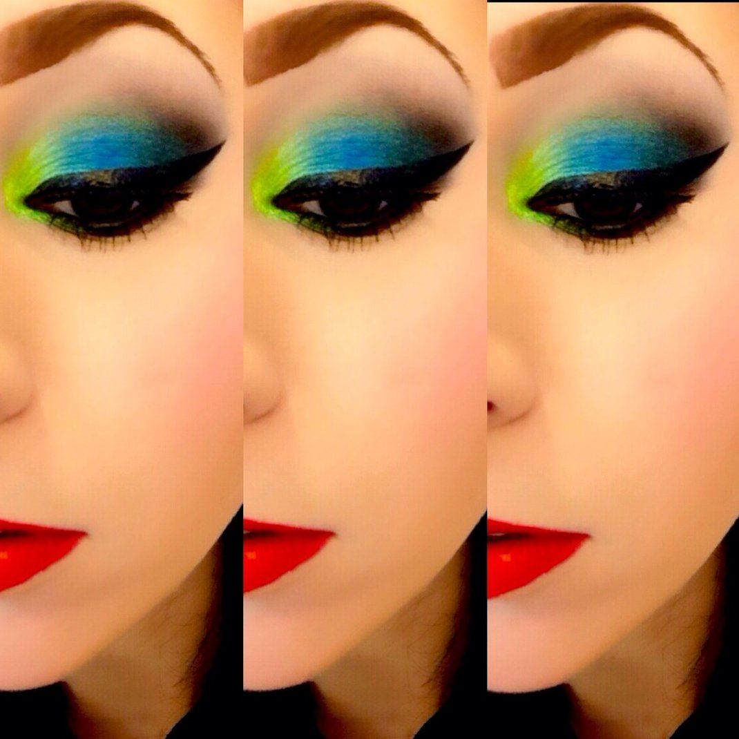 I love this look from @Sephora's #TheBeautyBoard http://gallery.sephora.com/photo/electric-palette-2770