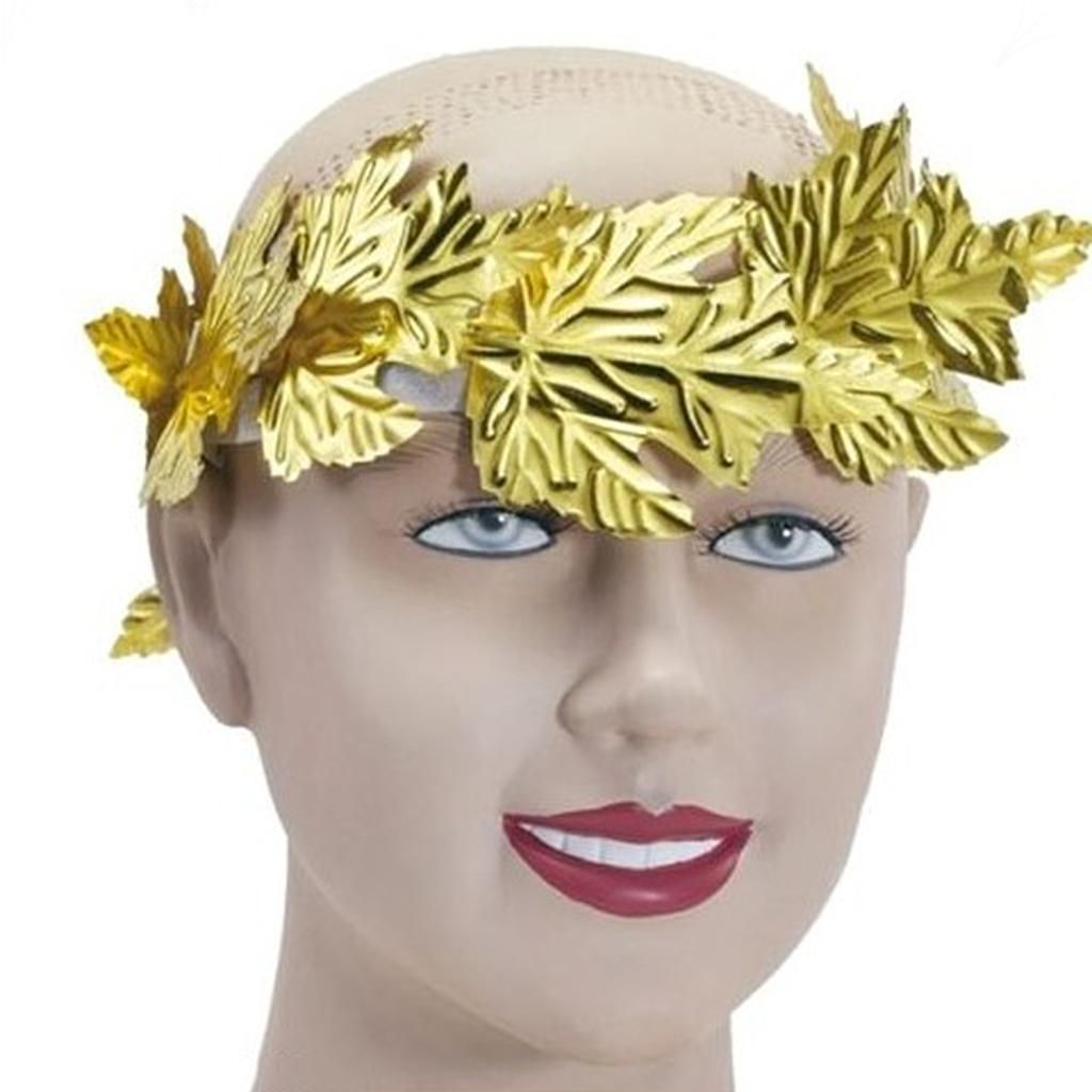 FAIRYTALE LEAF ROMAN LAURELS HEADBAND womens ladies fancy dress accessory