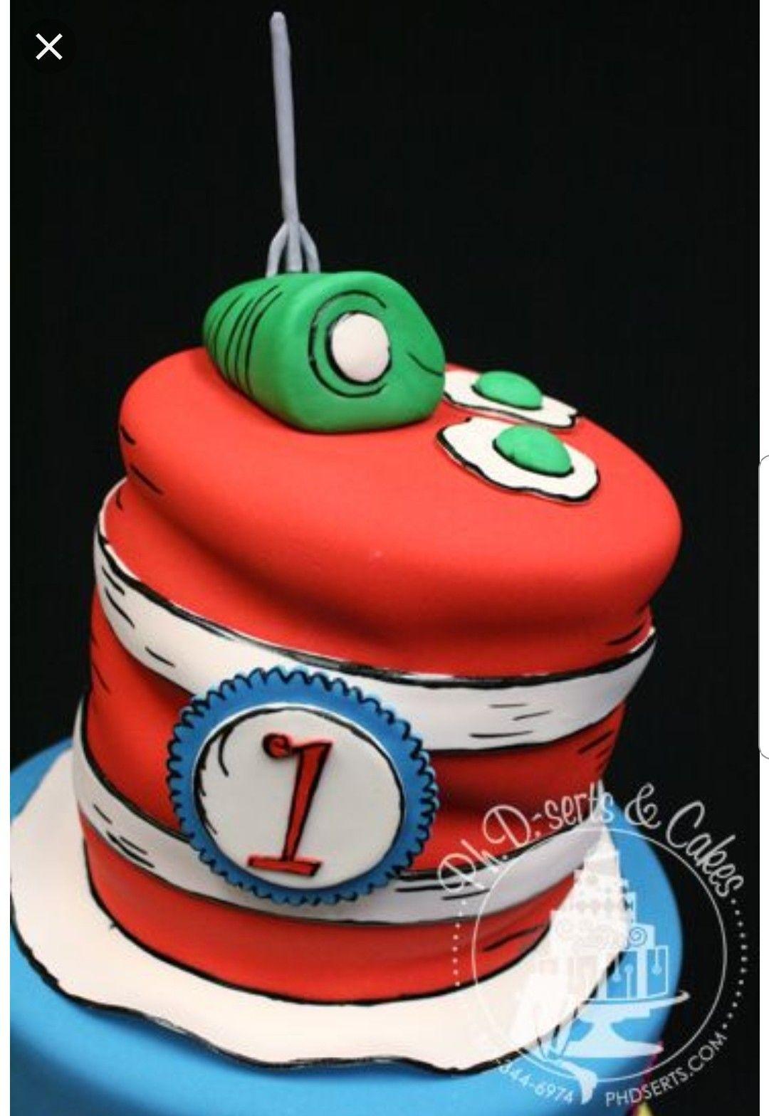 Super Green Eggs Ham Cake Seuss Cakes Dr Seuss Cake Personalised Birthday Cards Epsylily Jamesorg