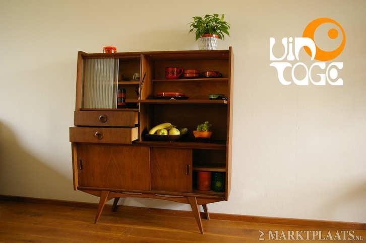 Marktplaatsnl Vintage Retro Kast Wandkast Buffetkast