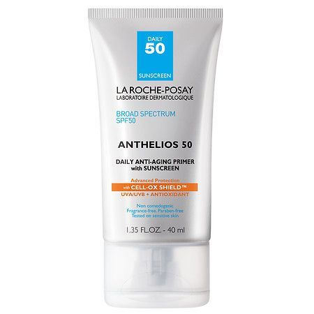 La Roche Posay Anthelios Anti Aging Face Primer With Sunscreen Spf 50 Cell Ox Shield Sonnencreme Furs Gesicht Roche Posay Gesicht Grundierung