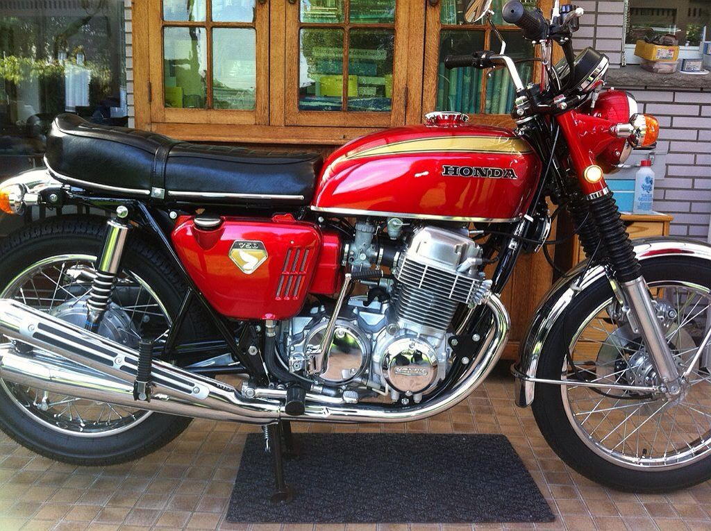 Honda Cb 750 Honda Motorcycles Motorcycle Honda Motorbikes
