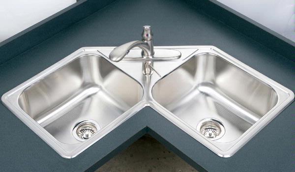 20 Best Photos Of Double Corner Kitchen Sink Corner Double