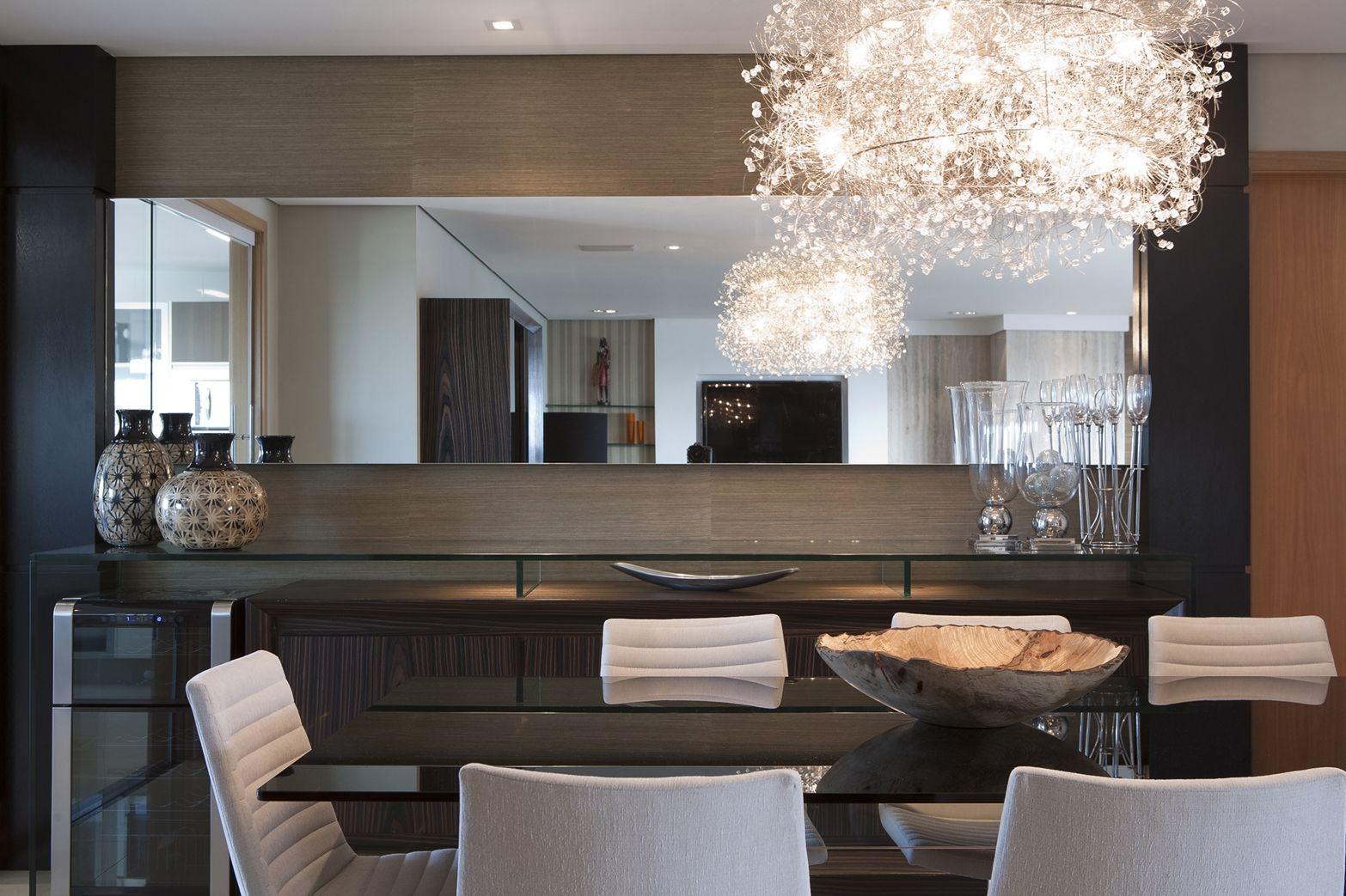 Sala De Jantar Decorao Simples Aparador Para Sala Lustres Para  -> Lustres Para Sala De Jantar Barato