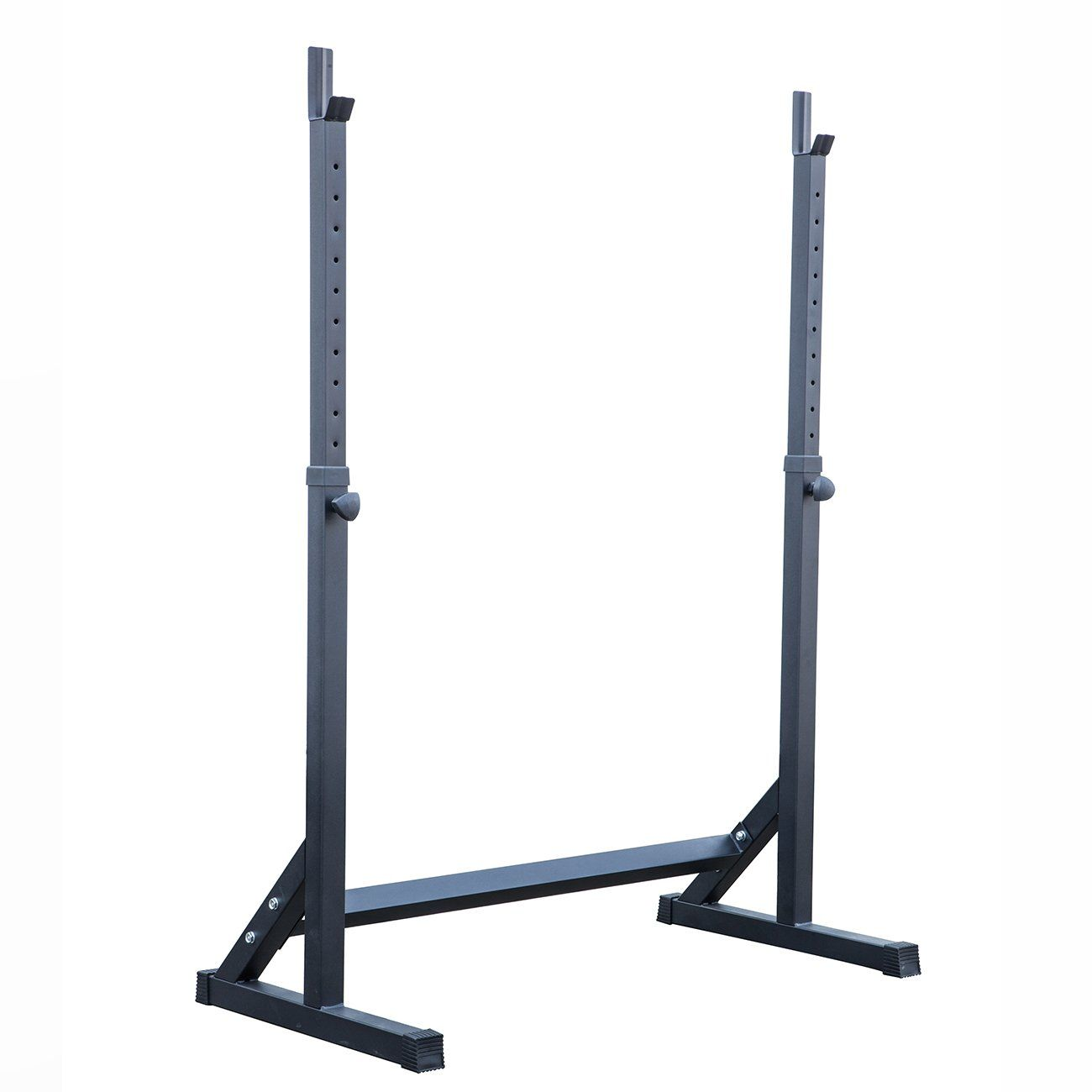 Akonza Adjustable Squat Rack Stand Barball Free Press Bench Equipment Training Cross Fit (With images) | Squat rack