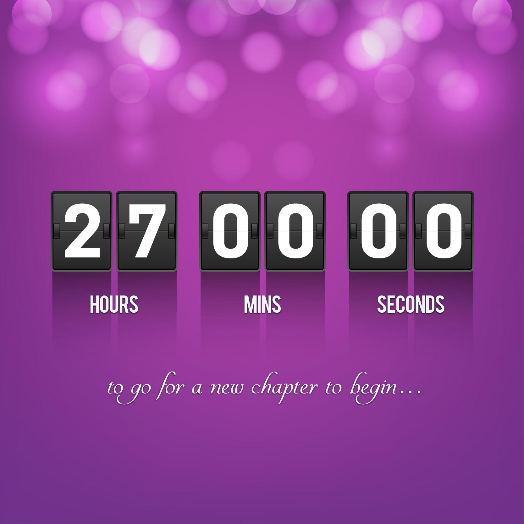 And the countdown has begun #alhuzaifa #newyear #happynewyear2016