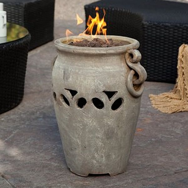 Bond Manufacturing Aria Ceramic Tabletop Fire Bowl   WoodlandDirect.com:  Outdoor, Outdoor Fireplaces
