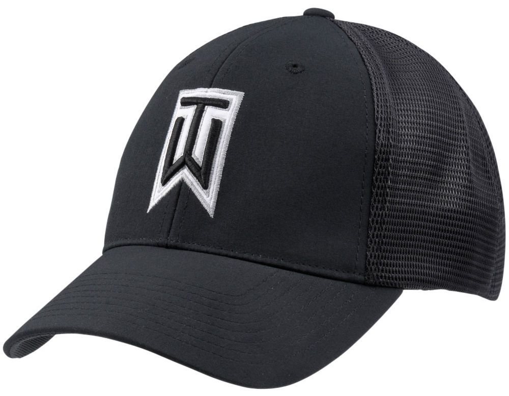 d69192f9fcd NEW NIKE Tiger Woods Legacy91 Tour Mesh Golf Hat 726287 010 PGA  Nike  GOLF