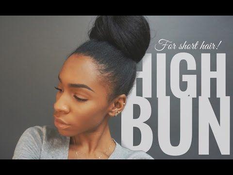 High bun tutorial for short hair with extensions vickylogan high bun tutorial for short hair with extensions vickylogan http47beauty pmusecretfo Gallery