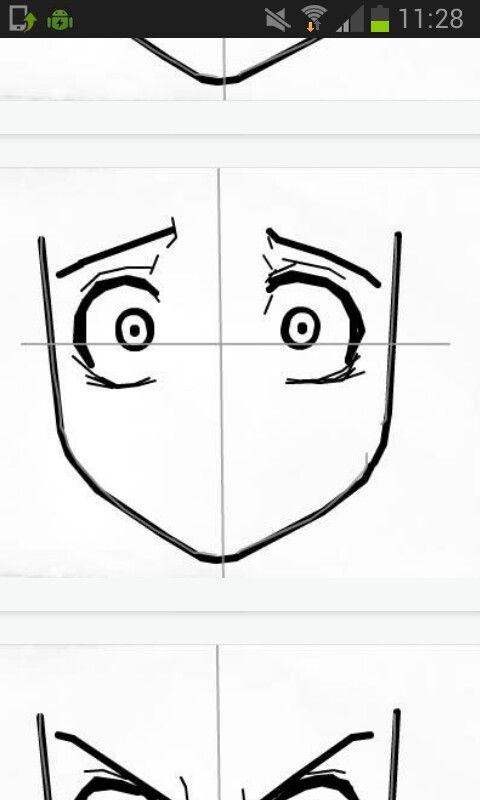 Wtj Shocked Eye Drawing Tutorials Manga Drawing Tutorials
