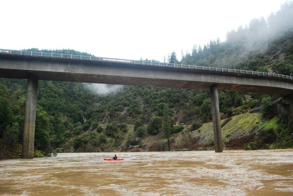 The Rogue River at 90,000 CFS