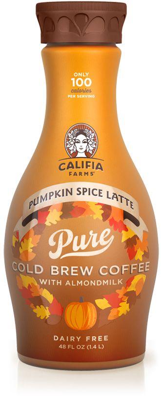 Califia Farms Drink Remarkably Vegan Pumpkin Spice Vegan Pumpkin Pumpkin Spice