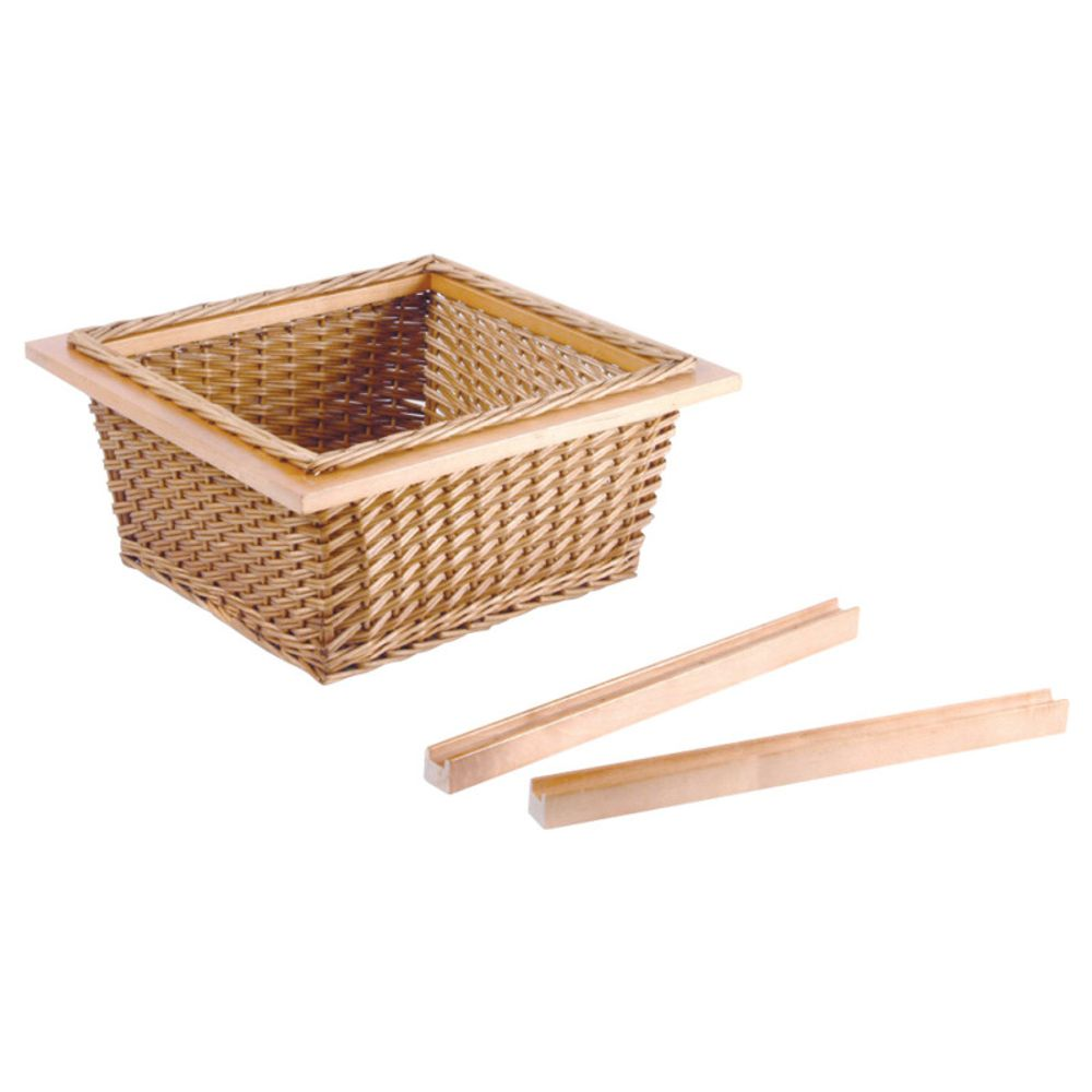 Wicker Basket Pull Out Vegetable Storage To Suit 400 600mm Cabinet In 2020 Vegetable Storage Pull Out Kitchen Storage Rattan Basket