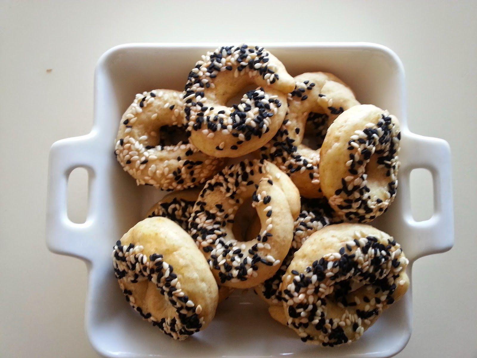 İYİLİK VE SAĞLIK: Tuzlu simit kurabiye