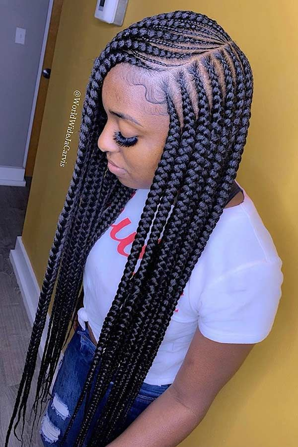 25 Cool Ways To Wear 2 Layer Braids This Season In 2020