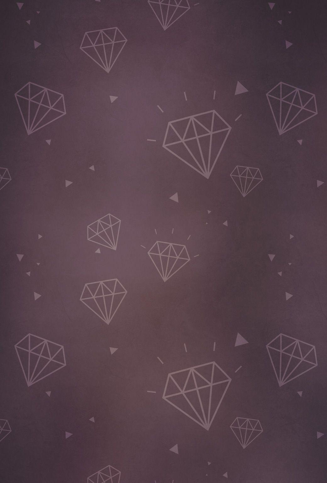 Fond d cran diamants pour smartphones 03 hello for Fond ecran smartphone