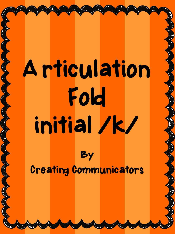 Creating Communicators Articulation Folds