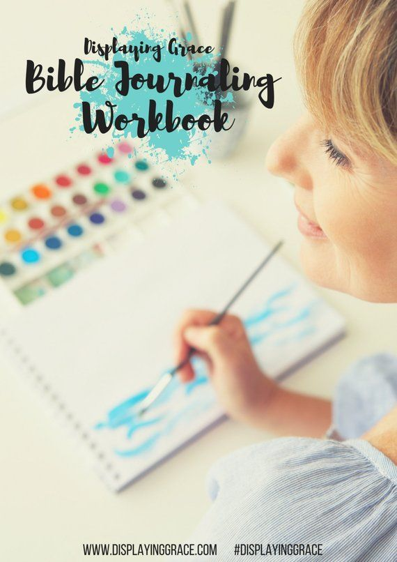 Bible Journaling Workbook PDF in 2019 | Products | Bible reading