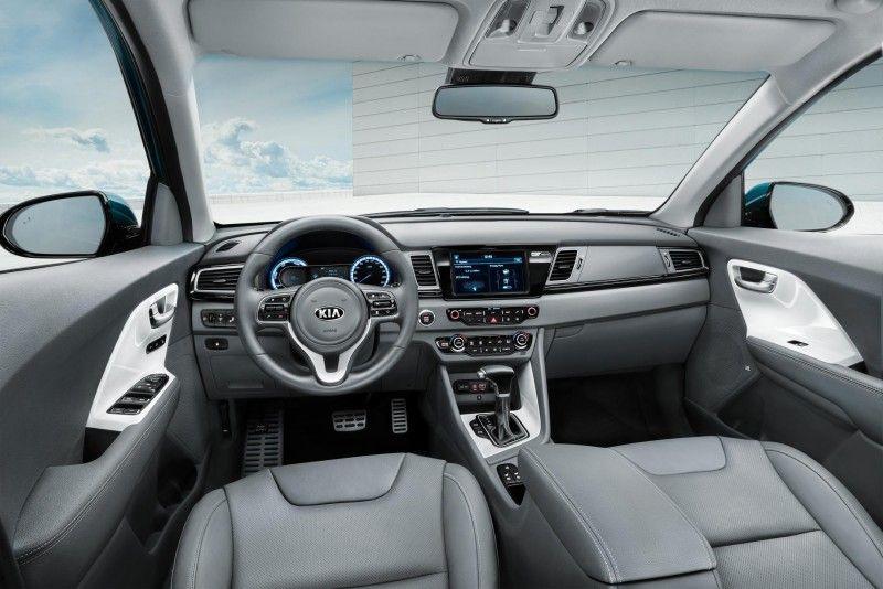 Kia Niro Interior Kia Hybrid Crossover Kia 2017