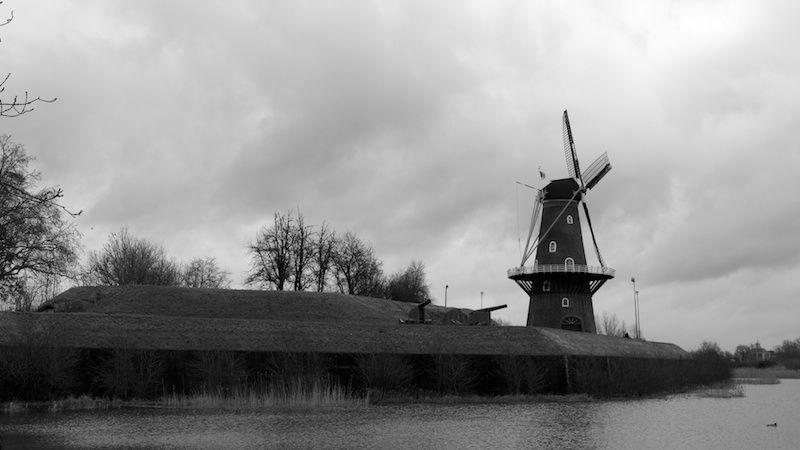 "Windmill ""de Hoop"" in Gorinchem"