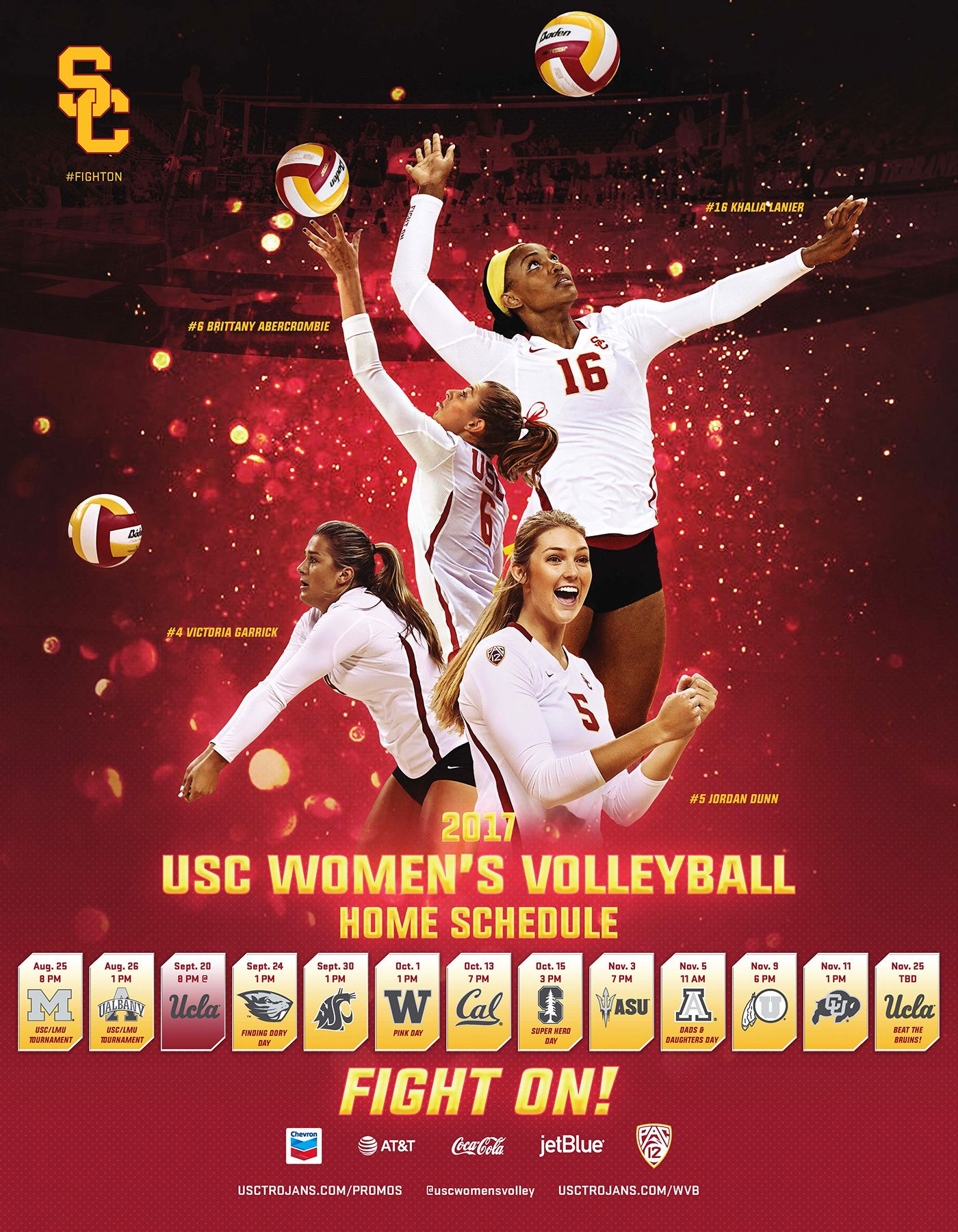 Victoria Garrick In 2020 Usc Athletics Volleyball Inspiration Usc