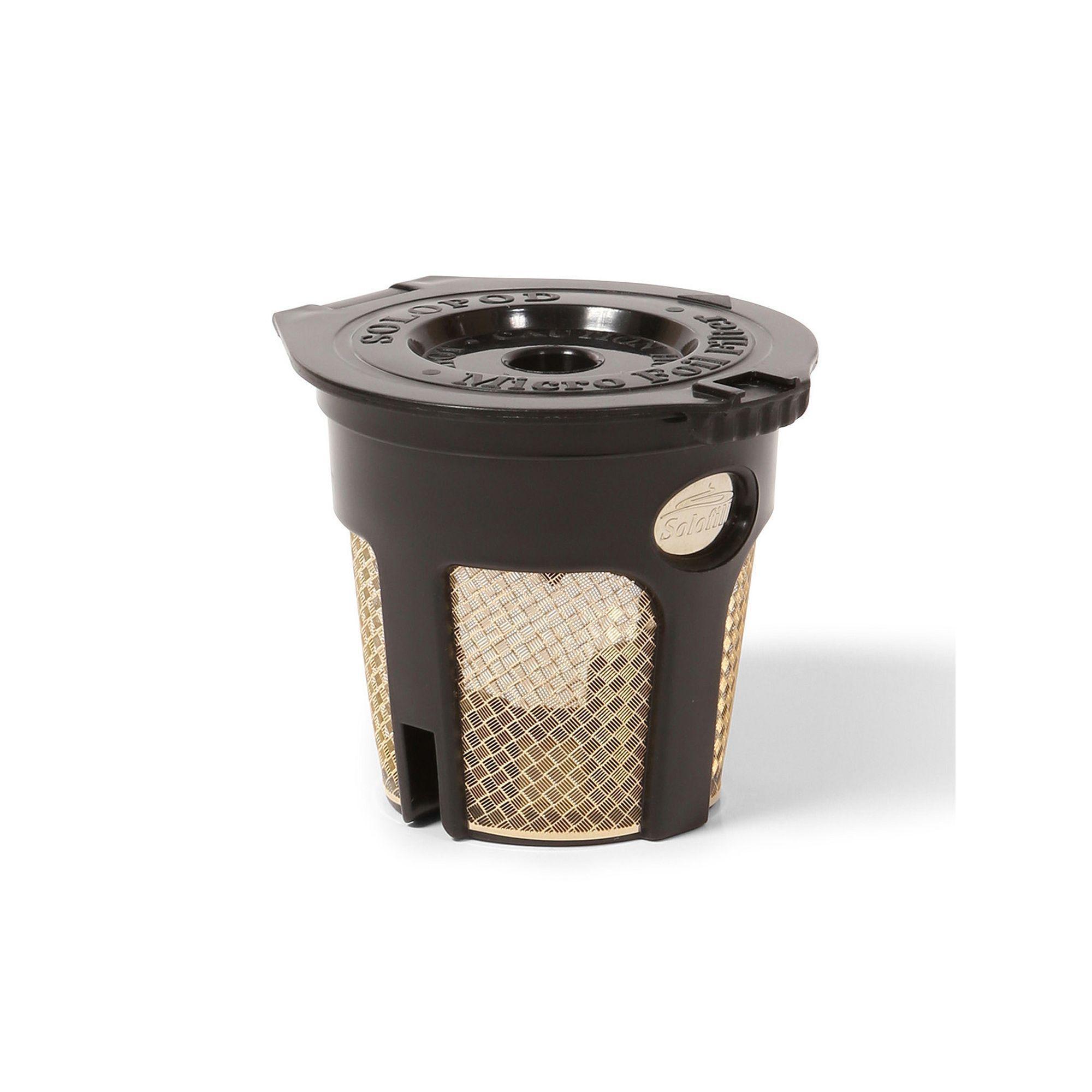Solofill SoloPad Reusable SingleServe Coffee Pod Coffee