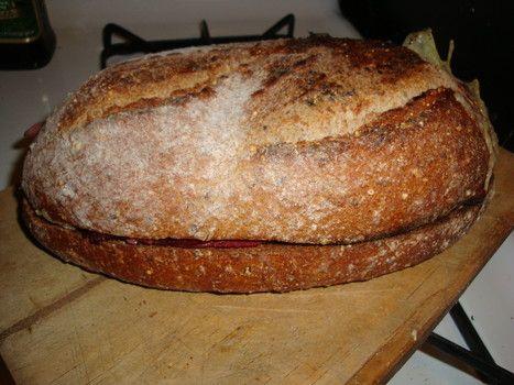 Enclosed loaf