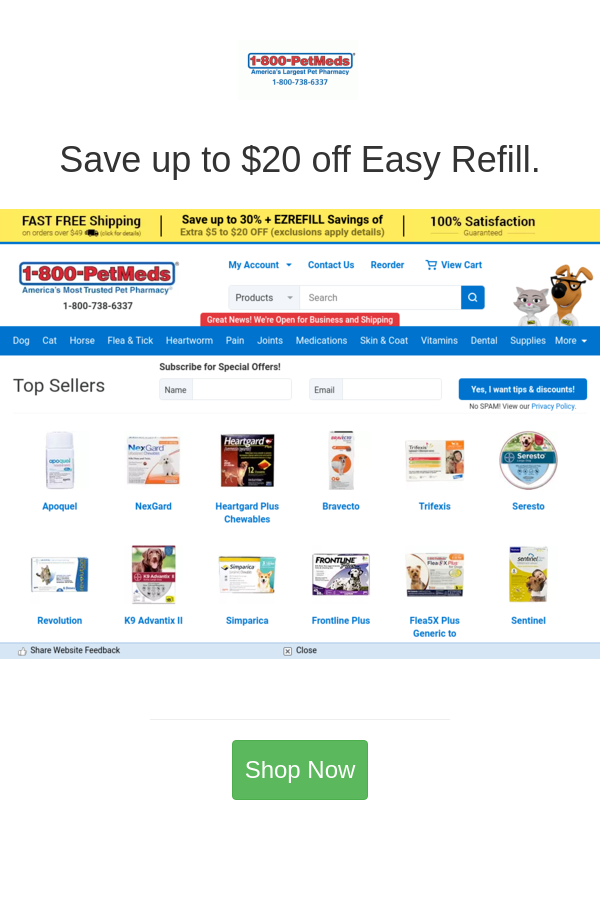 Best Deals And Coupons For 1 800 Petmeds In 2020 Refill Coupons Coupon Codes