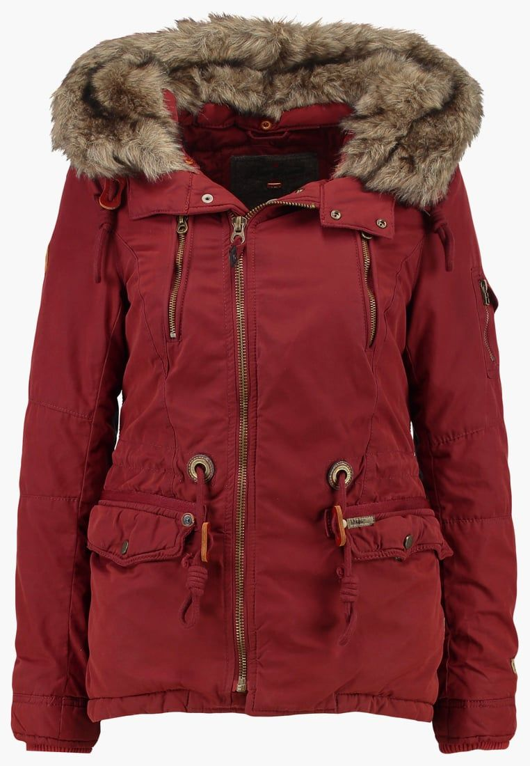 Khujo Dyani Winterjas Brick Red 199 95 Meer Info Via Http Kledingwinkel Nl Shop Kleding 2 Khujo Dyani Winterjas Brick Red Jackets Winter Jackets Outfits