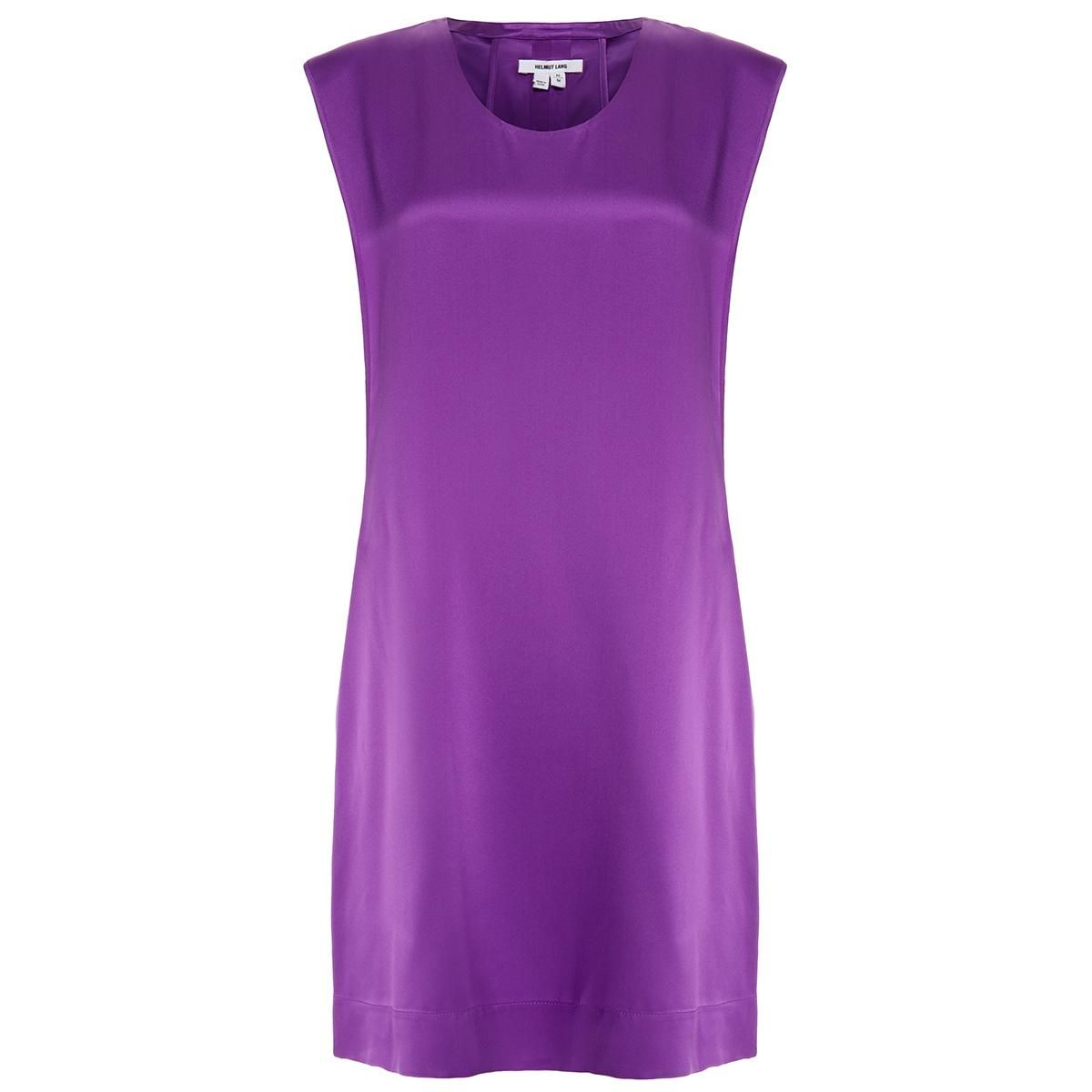 Mere Purple Cutout Back Silk-Satin Mini Dress | glamour | Pinterest