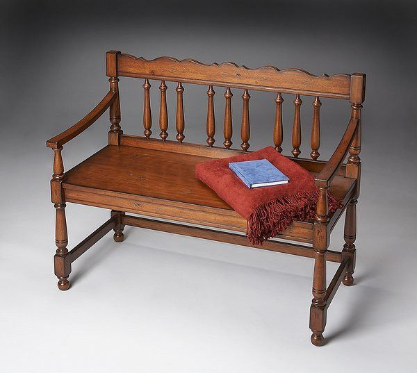 Butler Specialty Old World Cherry Bench - 5049102