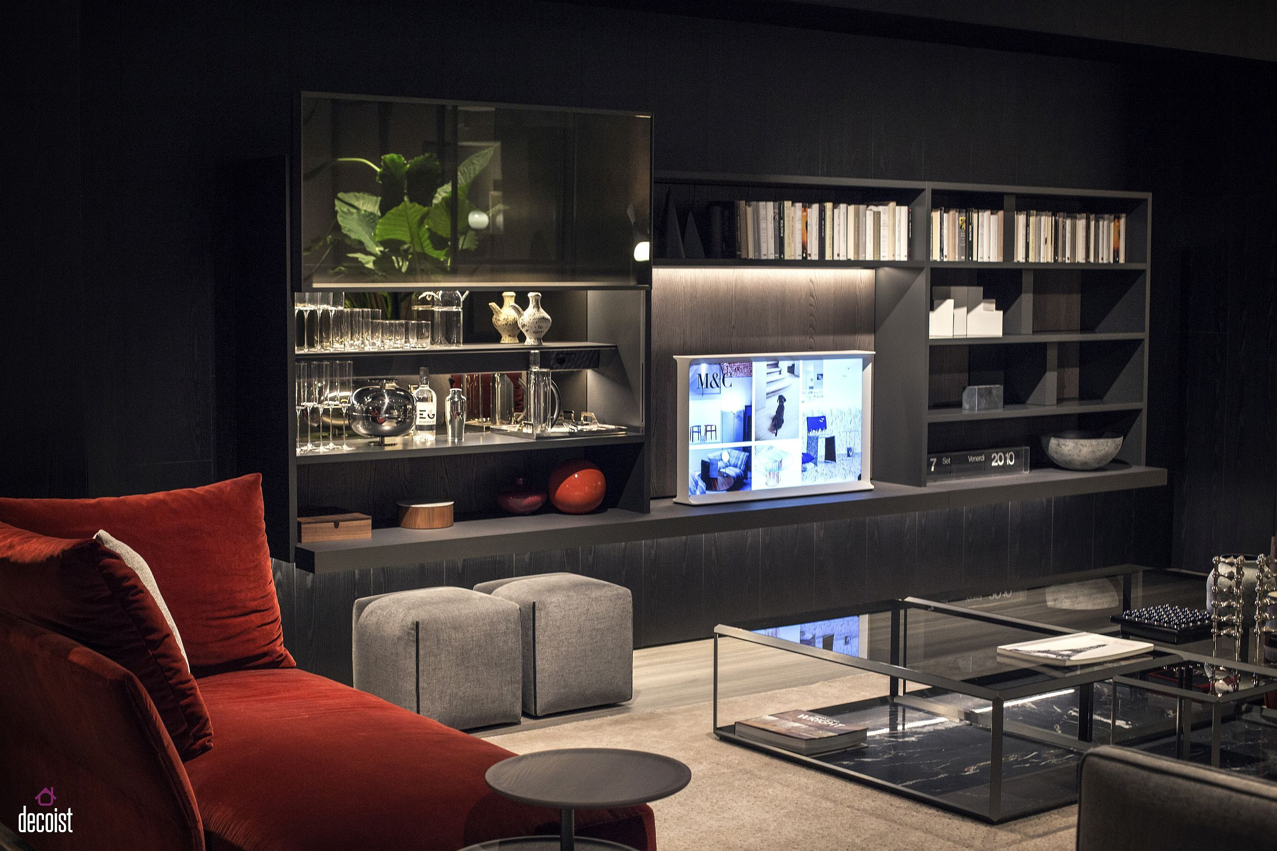 Tastefully Spacesavvy 25 Living Room Tv Units That Wow  Tv Alluring Living Room Tv Cabinet Designs Review