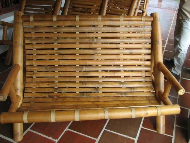 Muebles de guadua mobiliario pinterest - Muebles en bambu ...