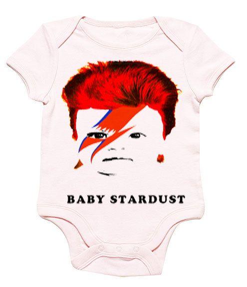 6d9c6344a Funny Baby Onesie David Bowie Ziggy Stardust Funny Bodysuit Bodysuit ...