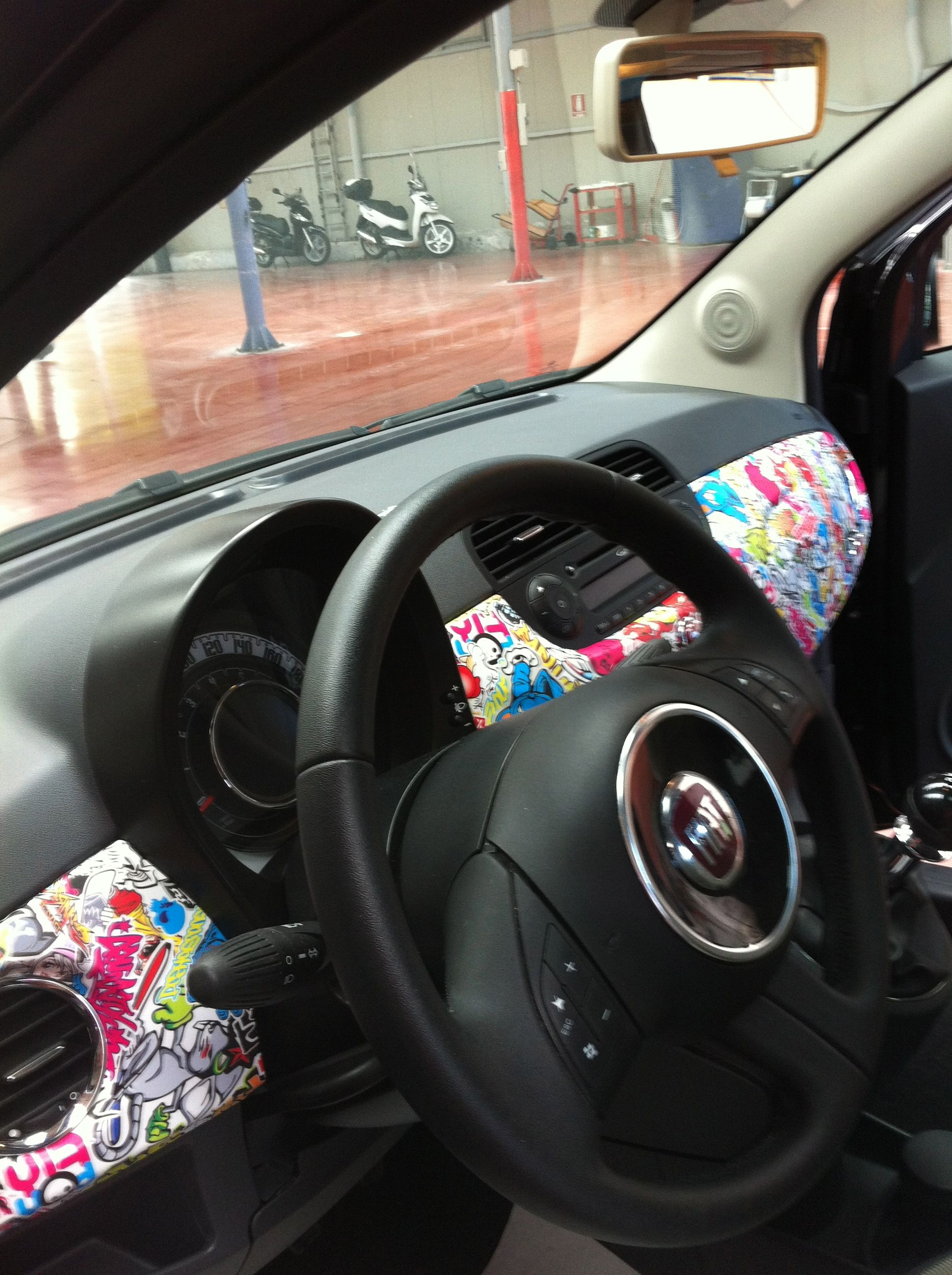 You 39 Re Not Limited Wrapping The Outside Of Your Car Awesome Car Wraps Pinterest Cars