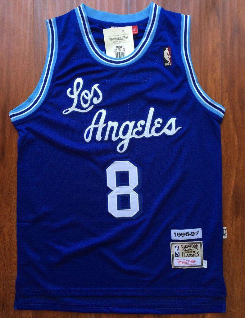 Men 8 Kobe Bryant Jersey Blue Christmas Los Angeles Lakers Swingman Jersey 48b42e21e