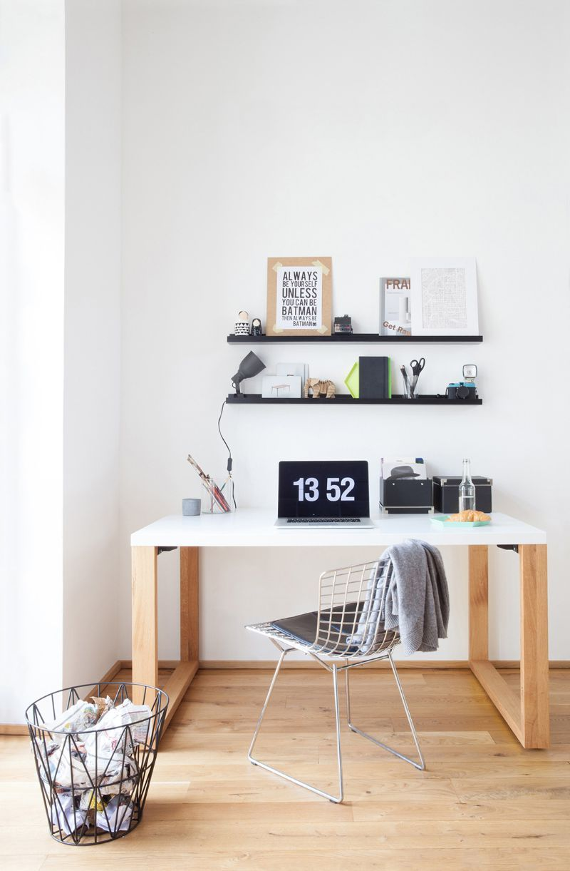 scandinavian design desk from mycs make it yours scandi look with mycs pinterest. Black Bedroom Furniture Sets. Home Design Ideas