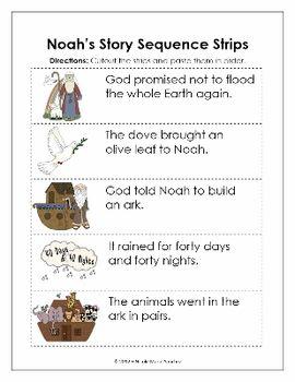 Noah's Ark Sequence Strips http://www.nicoleandeliceo.com/shop.html