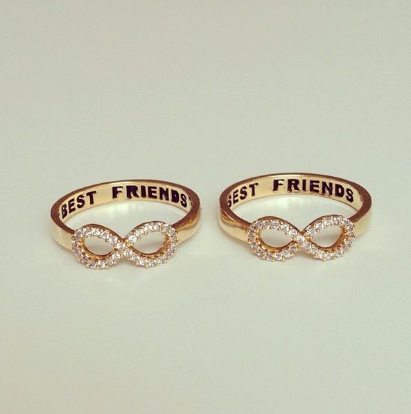 need these for my besties Jewelry Pinterest Friend rings