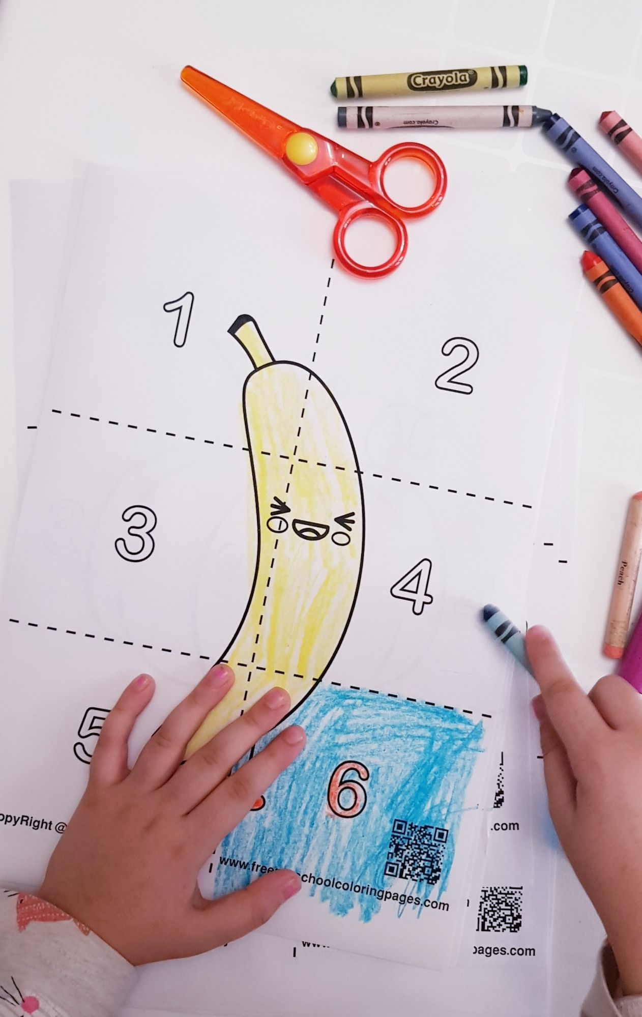 Pin On Free Cute Food Puzzle Coloring Pages