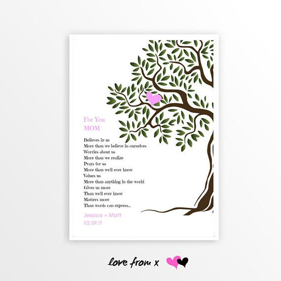 Wedding Poems For Bride And Groom: Parents Of Bride Gift From Bride And Groom, Thank You