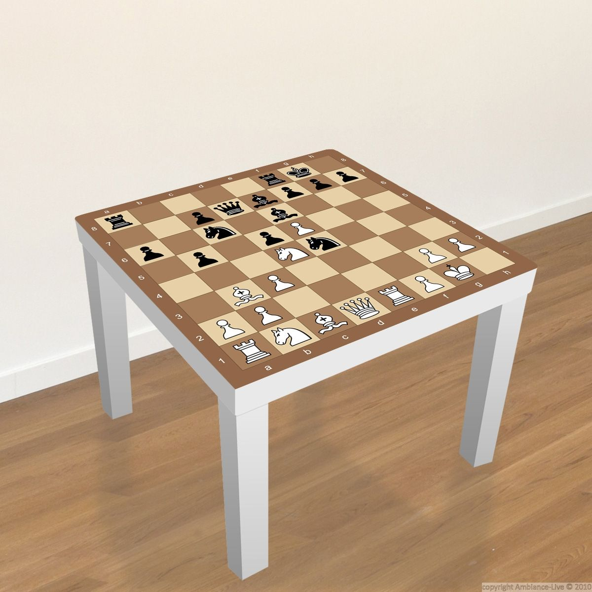 sticker meubles lack ikea echiquier ikea table and game. Black Bedroom Furniture Sets. Home Design Ideas
