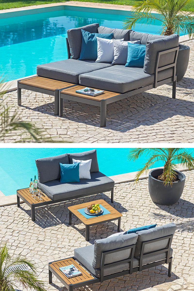 Loungegarnitur Aluminium Grau Kaufen Lounge Garnitur Lounge Garten Lounge