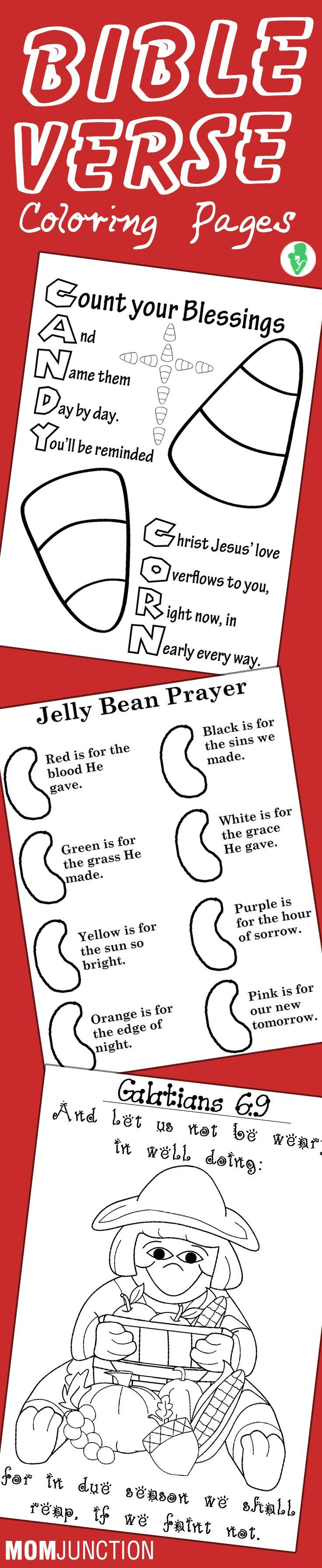 Thanksgiving coloring pages with bible verses - Top 10 Bible Verse Coloring Pages For Your Toddler
