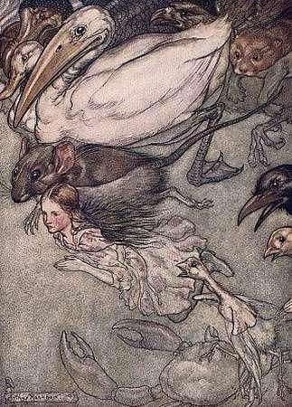 Arthur Rackham...Alice in Wonderland