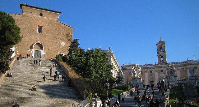 Roma - Chiesa Ara Coeli e Campidoglio | Flickr - Photo Sharing!
